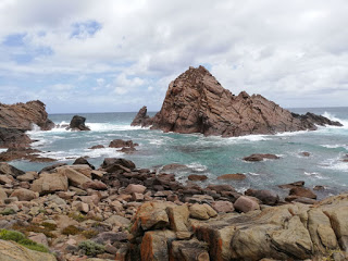 Sugar Loaf Rock, near Margaret River and Eagle Bay, in the South West of Australia